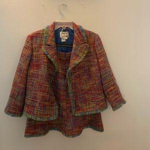 Rickie Freeman for Teri Jon Skirt Suit size 14